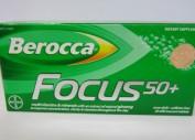 Berocca Focus 50+ 30 tabs  (2 for $30.00)