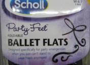 Scholl Party Feet